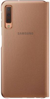 Чехол Samsung Wallet Cover для Galaxy A7 (2018) A750 Gold 1