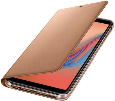 Чехол Samsung Wallet Cover для Galaxy A7 (2018) A750 Gold 3
