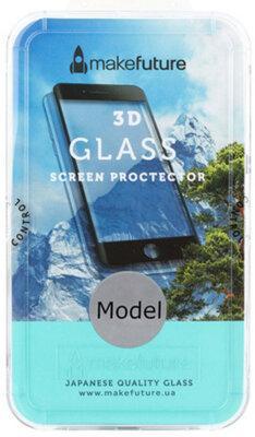 Захисне скло MakeFuture 3D для Apple iPhone X Black 1