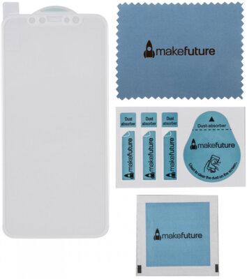 Захисне скло MakeFuture 3D для Apple iPhone X White 3