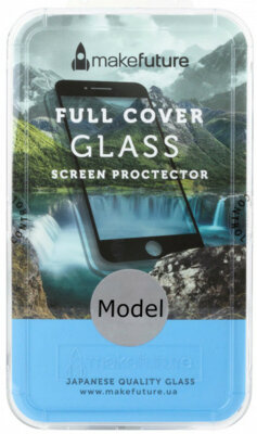 Захисне скло MakeFuture 3D для Apple iPhone X White 1
