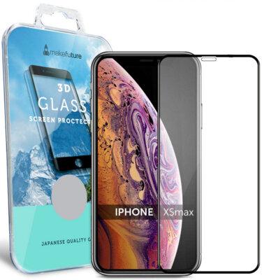 Захисне скло MakeFuture 3D для Apple iPhone XS Max Black 1