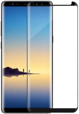 Защитное стекло MakeFuture 3D для Samsung Galaxy Note 8 Black 2