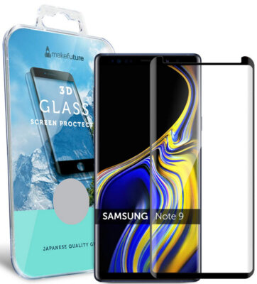 Защитное стекло MakeFuture 3D для Samsung Galaxy Note 9 N960 Black 1