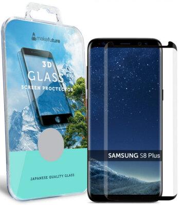 Захисне скло MakeFuture 3D для Samsung Galaxy S8+ G955 Black 1