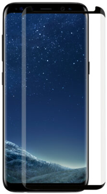 Захисне скло MakeFuture 3D для Samsung Galaxy S8+ G955 Black 2