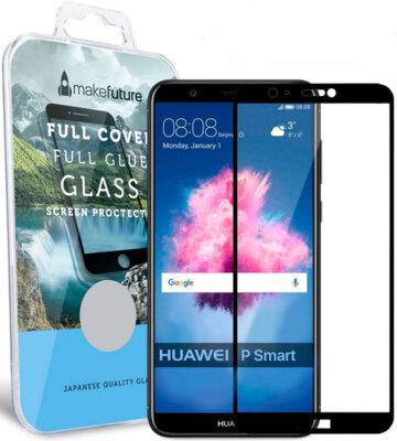 Захисне скло MakeFuture Full Cover Glue для Huawei P Smart Black 1