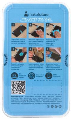 Захисне скло MakeFuture Full Cover Glue для Huawei P Smart Black 3
