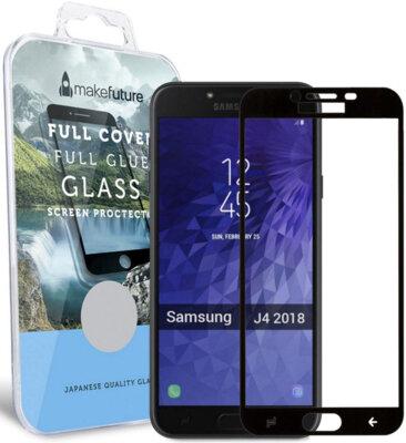 Захисне скло MakeFuture Full Cover Glue для Samsung Galaxy J4 J400 Black 1