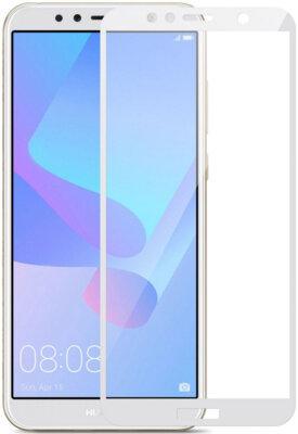 Защитное стекло MakeFuture Full Cover Glue для Huawei Y6 Prime 2018 White 2