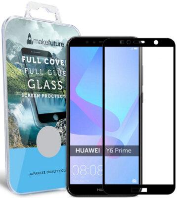 Защитное стекло MakeFuture Full Cover Glue для Huawei Y6 Prime 2018 Black 1