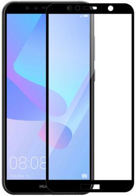 Защитное стекло MakeFuture Full Cover Glue для Huawei Y6 Prime 2018 Black 2