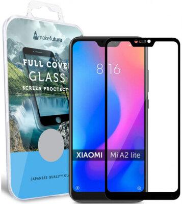 Защитное стекло MakeFuture Full Cover для Xiaomi Mi A2 Lite Black 1
