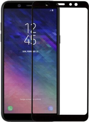 Захисне скло MakeFuture Full Cover для Samsung Galaxy A6+ A605 Black 2