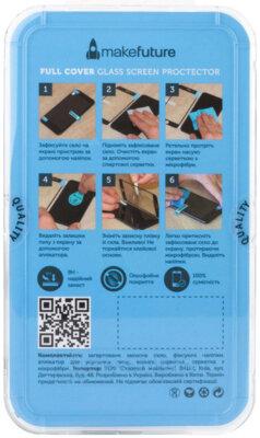 Захисне скло MakeFuture Full Cover для Samsung Galaxy A6+ A605 Black 3