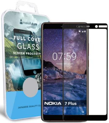 Защитное стекло MakeFuture Full Cover для Nokia 7 Plus Black 1