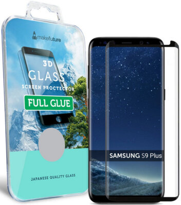 Захисне скло MakeFuture 3D Full Cover Glue для Samsung Galaxy S9+ G965 Black 1