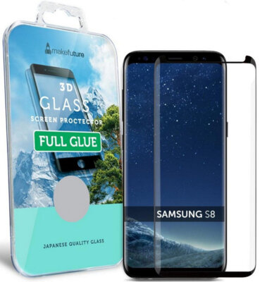 Захисне скло MakeFuture 3D Full Cover Glue для Samsung Galaxy S8 G950 Black 1