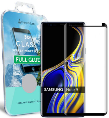 Защитное стекло MakeFuture 3D Full Cover Glue для Samsung Galaxy Note 9 N960 Black 1