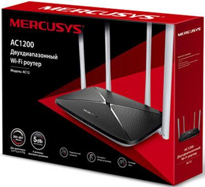 Маршрутизатор Mercusys AC12 4