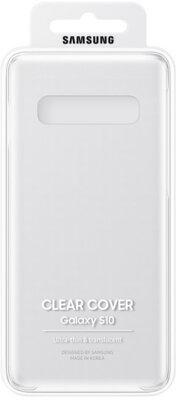 Чохол Samsung Clear Cover Transparent для Galaxy S10 G973 5