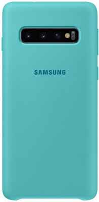 Чохол Samsung Silicone Cover Green для Galaxy S10 G973 1