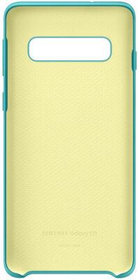 Чохол Samsung Silicone Cover Green для Galaxy S10 G973 2