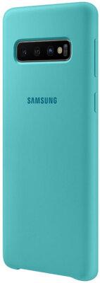 Чохол Samsung Silicone Cover Green для Galaxy S10 G973 3