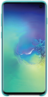 Чохол Samsung Silicone Cover Green для Galaxy S10 G973 4