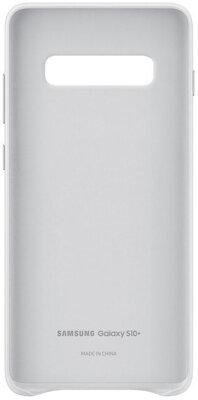 Чехол Samsung Leather Cover White для Galaxy S10+ G975 2