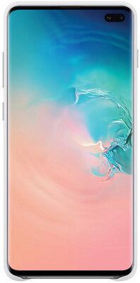 Чехол Samsung Leather Cover White для Galaxy S10+ G975 4