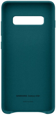 Чехол Samsung Leather Cover Green для Galaxy S10+ G975 2