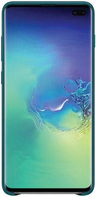 Чехол Samsung Leather Cover Green для Galaxy S10+ G975 4