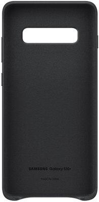 Чохол Samsung Leather Cover Black для Galaxy S10+ G975 2