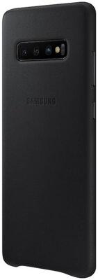 Чохол Samsung Leather Cover Black для Galaxy S10+ G975 3