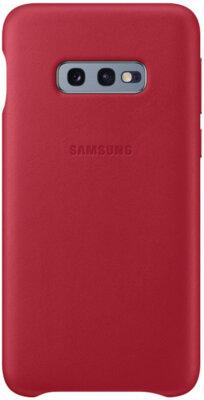 Чохол Samsung Leather Cover Red для Galaxy S10e G970 1