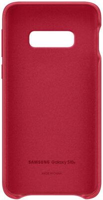 Чохол Samsung Leather Cover Red для Galaxy S10e G970 2