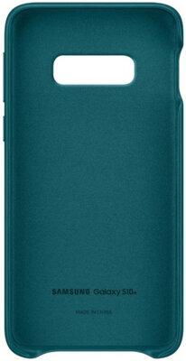 Чохол Samsung Leather Cover Green для Galaxy S10e G970 2