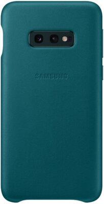 Чохол Samsung Leather Cover Green для Galaxy S10e G970 1