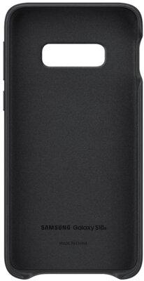 Чохол Samsung Leather Cover Black для Galaxy S10e G970 2
