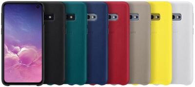 Чохол Samsung Leather Cover Black для Galaxy S10e G970 5