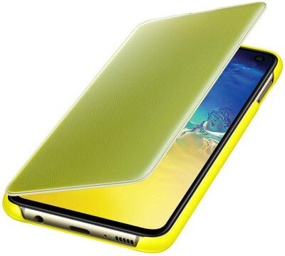 Чехол Samsung Clear View Cover Yellow для Galaxy S10e G970 3