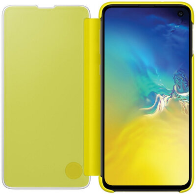 Чехол Samsung Clear View Cover Yellow для Galaxy S10e G970 4