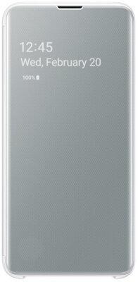 Чехол Samsung Clear View Cover White для Galaxy S10e G970 2