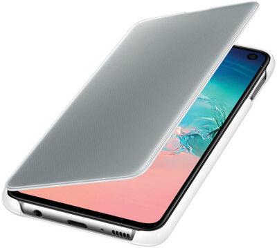Чехол Samsung Clear View Cover White для Galaxy S10e G970 3