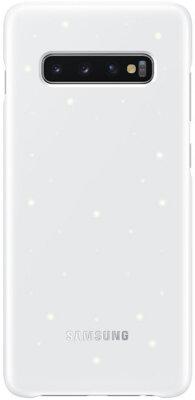 Чехол Samsung LED Cover White для Galaxy S10+ G975 1