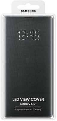 Чехол Samsung LED View Cover Black для Galaxy S10+ G975 6
