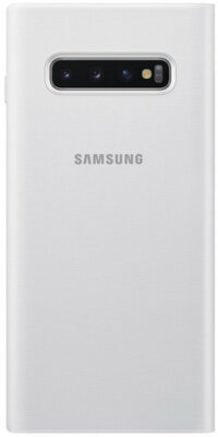 Чехол Samsung LED View Cover White для Galaxy S10+ G975 2