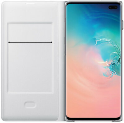 Чехол Samsung LED View Cover White для Galaxy S10+ G975 3