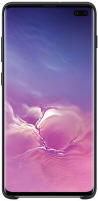 Чехол Samsung Silicone Cover Black для Galaxy S10+ G975 2